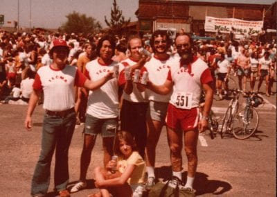 1975- The finish line celebration at the Eppie_s Great Race (21)